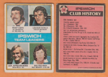 Ipswich Town Team Leaders 108